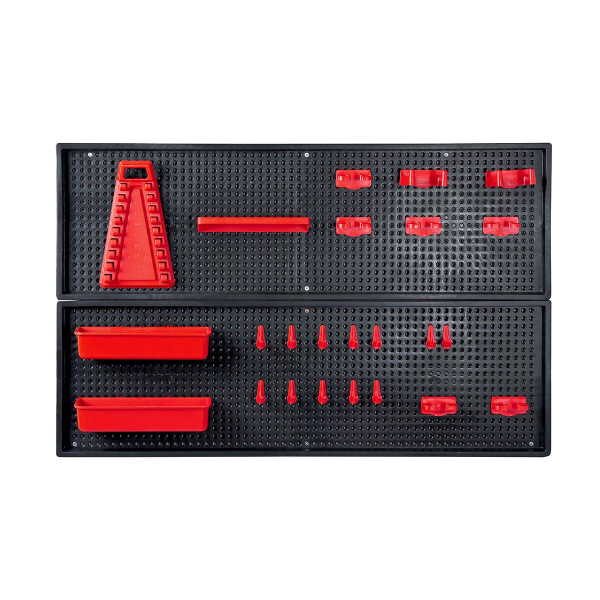 panneau porte outil perfor accessoires rouges patrol group. Black Bedroom Furniture Sets. Home Design Ideas